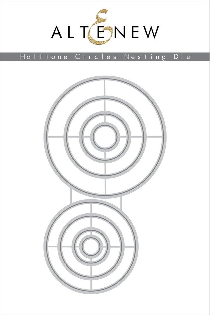 Halftone Circles Die