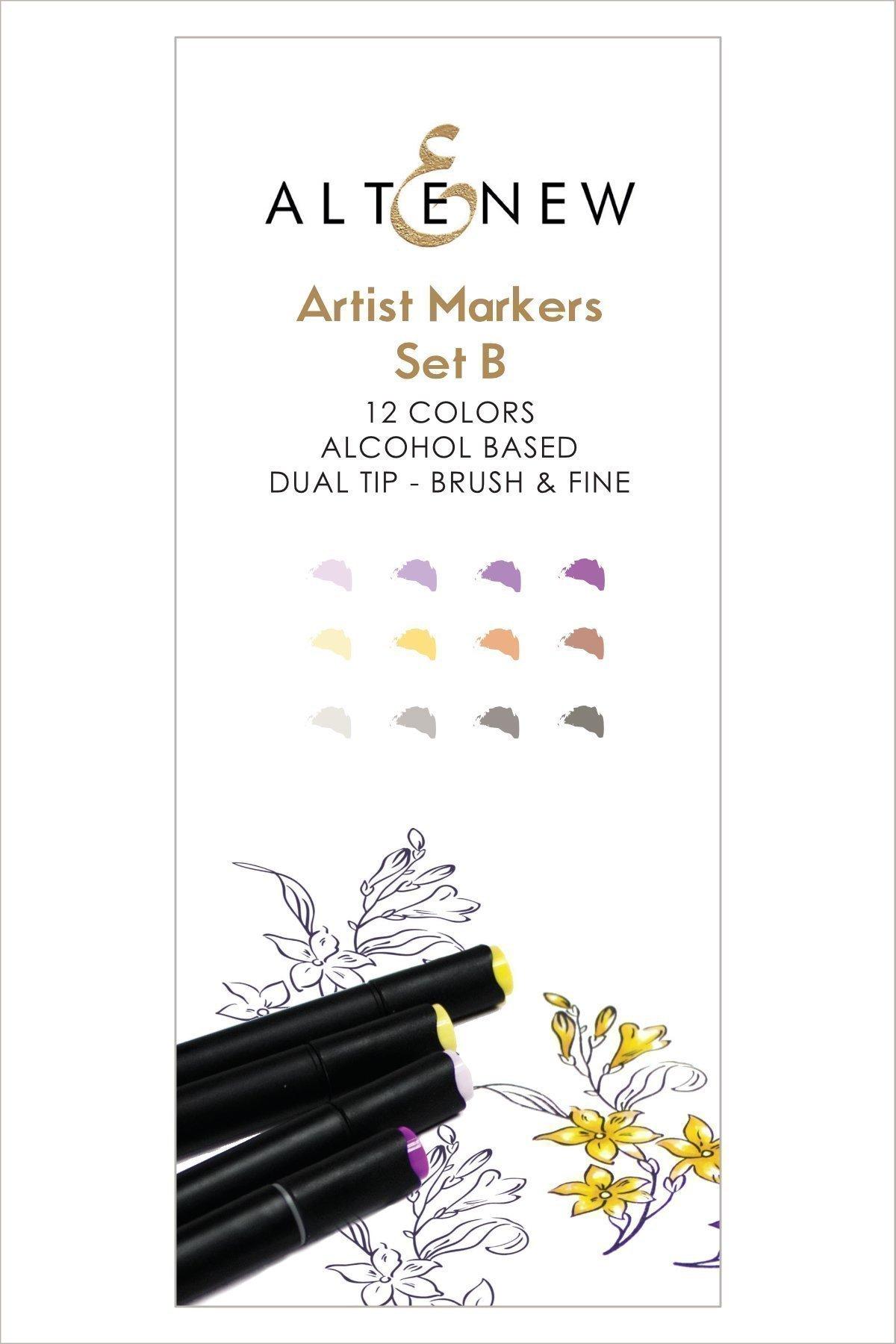 Altenew Artist Markers Set B