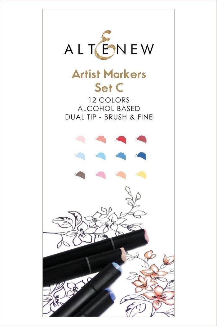 Altenew Artist Markers Set C